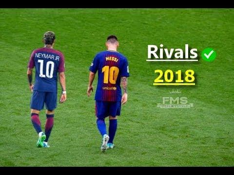 Messi vs Neymar ► RIVALS | 2017/18