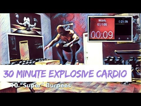 30 Minute Explosive & Athletic Cardio Circuit - UMC (Ultimate Muscle Confusion )