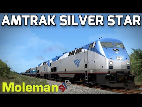 Train Simulator 2016 | Amtrak P42DC Silver Star | Miami - West Palm Beach