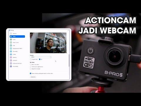 Tutorial Merubah Action Camera BPRO5 Jadi Webcam Untuk Zoom Meeting