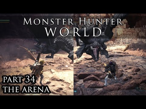 Let's Play Monster Hunter World - Part 34 - Arena Quests thumbnail