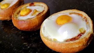 Huevos en nido