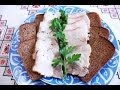 Сало в рассоле вкуснейший рецепт Вареное сало Сало варене в розсолі Шпондер мясний украинское сало