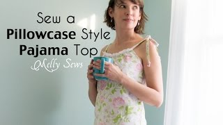 Sew a Pillowcase Top - Use a Vintage Sheet to Make a Shirt