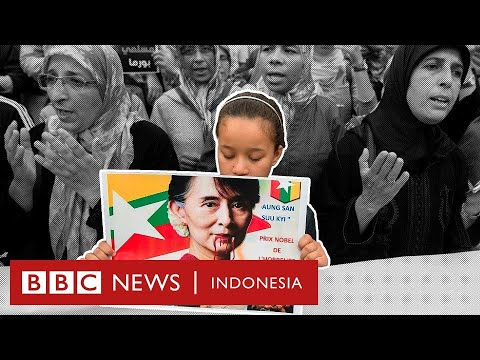 Aung San Suu Kyi, simbol demokrasi yang dituding persekusi Muslim Rohingya - BBC News Indonesia