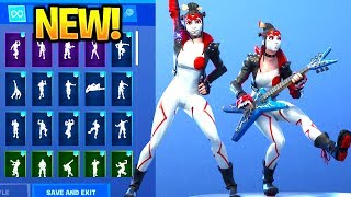 *NEW* TAKARA Skin Showcase With Dance Emotes! Fortnite Battle Royale