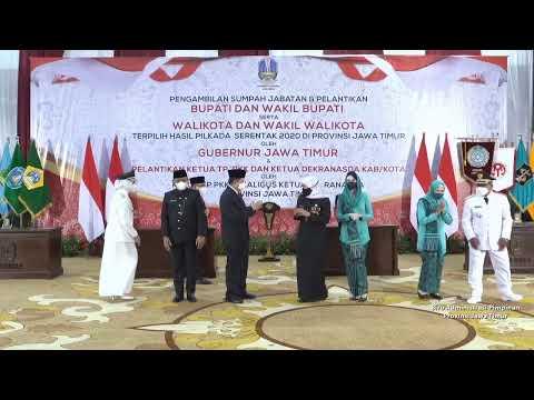 Pengambilan Sumpah Jabatan Dan Pelantikan Bupati Dan Wakil Bupati Serta Walikota Dan Wakil Walikota