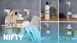 Easy Homemade Cleaning Products