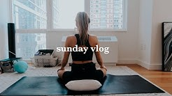 SUNDAY VLOG | weekly prep, cleaning, groceries, & self care
