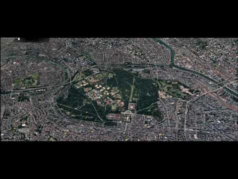 Bois de Vincennes Vu du ciel