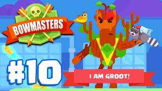 I AM GROOT (YOUNG TREE)   Bowmasters - Multiplayer Game Part 10   All Characters