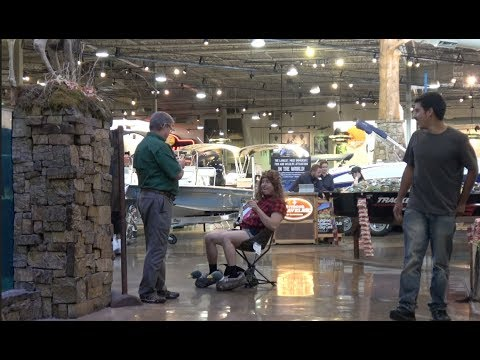 HILLBILLY  GOES FISHING AT BASS PRO SHOP!