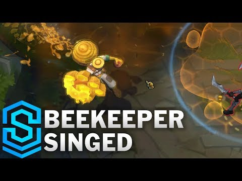 Beekeeper Singed Skin Spotlight - Pre-Release - League of Legends