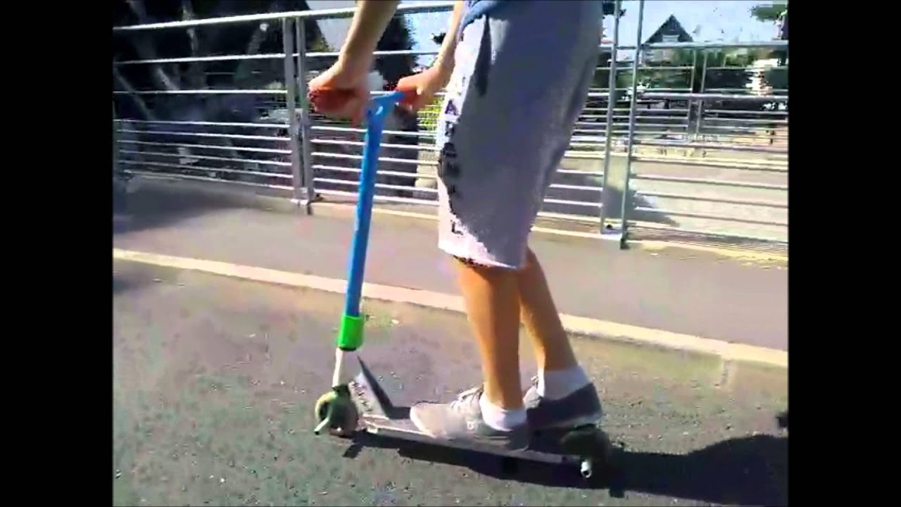 Hugo Minetto Trotinette Freestyle Street Amateur