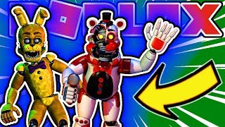 How To Get Showtime Badge and Replay Your Nightmares Badge in Roblox Fred-bear's Custom Night