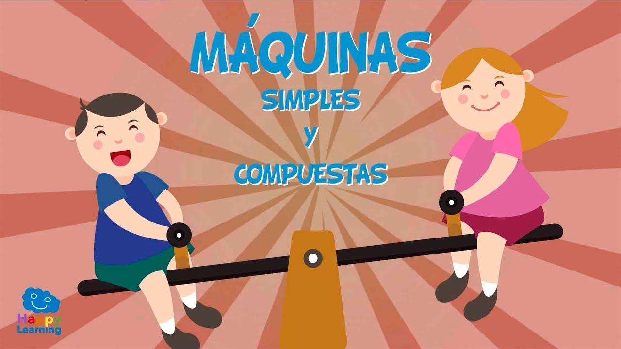 Máquinas Simples Y Compuestas Vídeos Educativos Para Niños Youtube