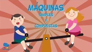 MÁQUINAS SIMPLES Y COMPUESTAS | Vídeos Educativos para niños