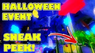 Roblox 2018 Halloween Event Map - Helping Roblox To Test Servers While Giving YOU A First Look