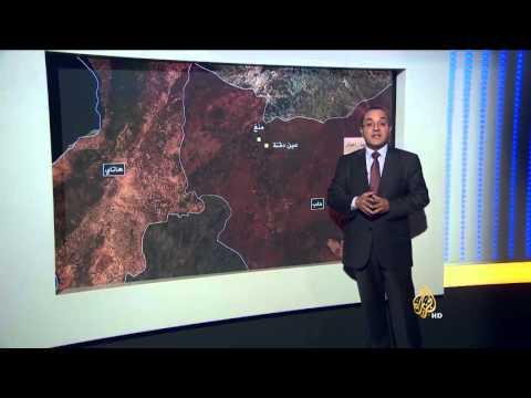 التطورات الميدانية في حلب ومحيطها