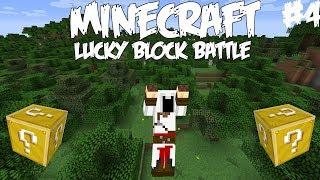 KUKA PISTÄÄ PATAAN - Pelataan Lucky Block Battle Minecraft - Osa 4