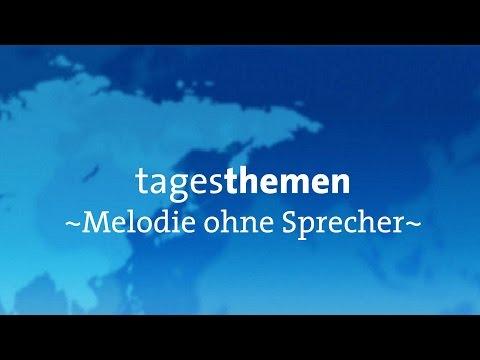 |ARD Aktuell tagesthemen Melodie ohne Sprecher! [2014]