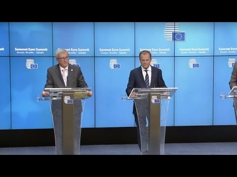 LIVE: EC discuss refugee crisis and UK's EU membership - Press conference by Tusk and Juncker