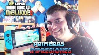 New Super Mario Bros. U Deluxe - Primeras impresiones en Español