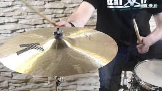 "BeatIt Presents: Zildjian 20"" K Custom Dark Crash"