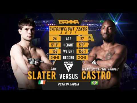 BAMMA 35: Sam Slater vs Jeanderson Castro