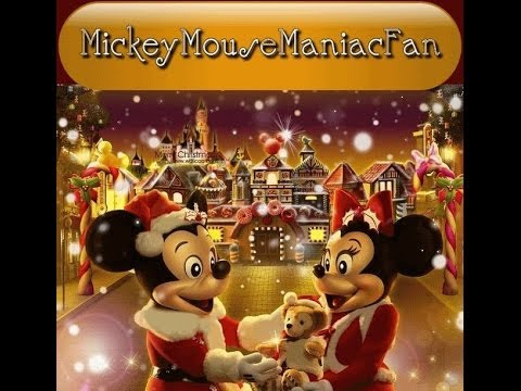 MY 2013 DISNEY MICKEY MOUSE CHRISTMAS VILLAGE - YouTube
