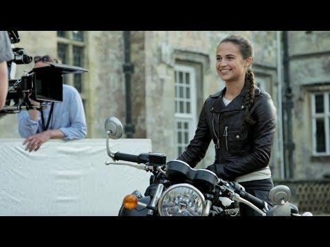 'Tomb Raider' Featurette 2018  Becoming Lara Croft