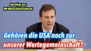 USA verlassen UN-Menschenrechtsrat: Bundesregierung reagiert