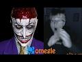 The Joker goes on Omegle