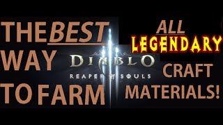 Farming ANY Legendary crafting material Diablo 3 Reaper of souls