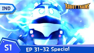 Robot Trains  EP31~EP32 (20 mins)  SPECIAL FULL EDISODE COMPLIATION  Bahasa Indonesia