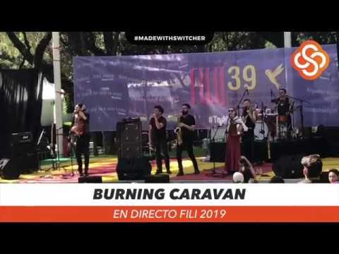 Burning Caravan