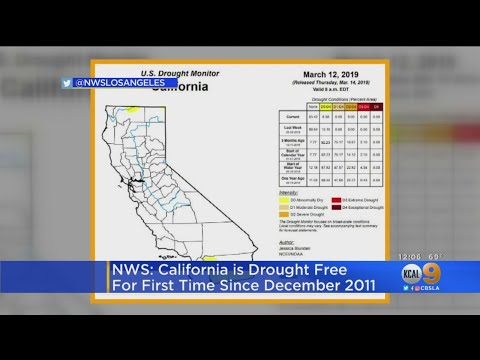 Top Stories - California Is Nearly Drought Free For the First Time in 8 Years