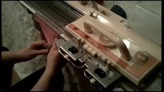 Brother KH-860 Knitting Machine Demo