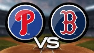 5/27/13: Red Sox tally 15 hits to top Phillies