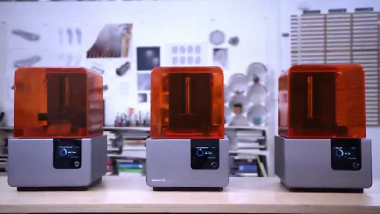 Introducing the Form 2 Desktop 3D Printer From Formlabs - YouTube