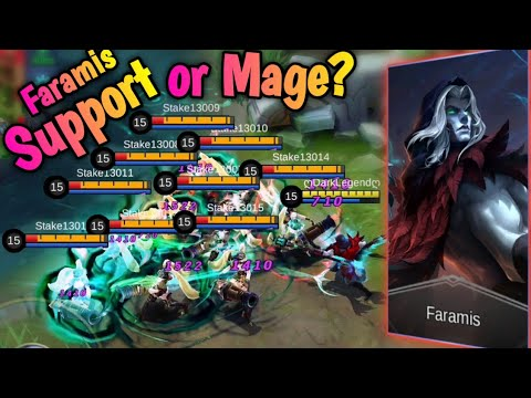 Faramis it's a Support? 🤔 Then he is the Best Mage | Mobile Legends: Bang Bang thumbnail
