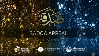 SADQA APPEAL - Live Virtual Event