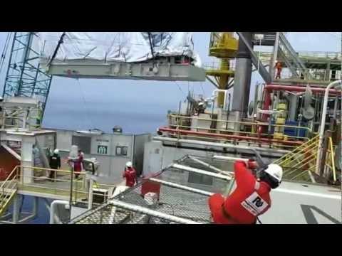 "Maleo Pre-shutdown - Heavy Lifting ""Turbine Gas Compressor - Taurus 60"""