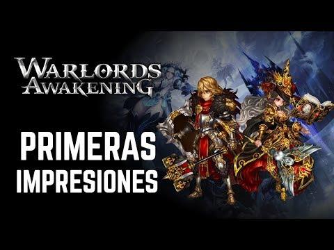 Warlords Awakening MMOARPG - Primeras impresiones.