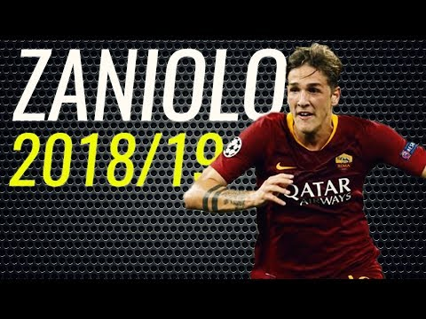 Nicolò Zaniolo • 2018 • Roma • Magic Passes, Tackes & Skills • HD
