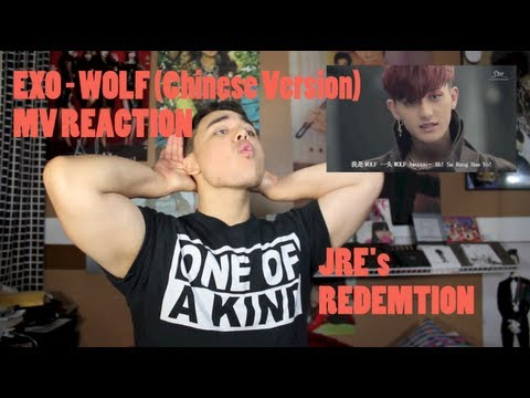 EXO - WOLF Chinese Version) MV Reaction REDEMPTION!