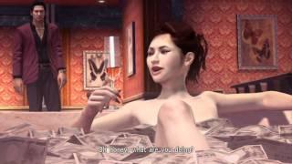 Yakuza 4  |  Bathing In Money Gameplay  |  PS3  |  HD