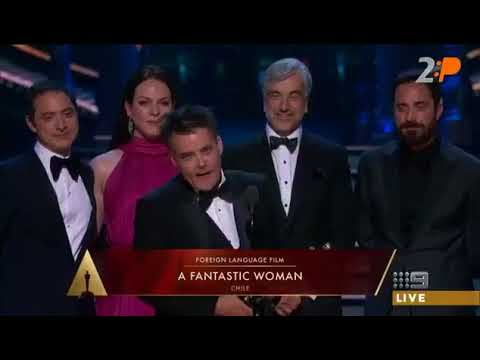 "FIRST OSCAR FOR BEST FOREIGN LANGUAGE FILM GOES TO CHILE FOR ""A FANTASTIC WOMAN"" BY SEBASTIAN LELIO"