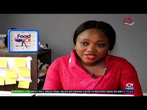 CEO of food 101 shares her success story - Business Live on Joy News (27-5-20)