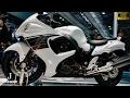 (4K)SUZUKI GSX1300R Hayabusa 2017 スズキ・隼 2017年モデル - 大阪モーターサイクルショー2017